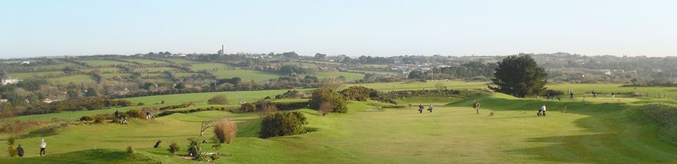 Golf course in Cornwall